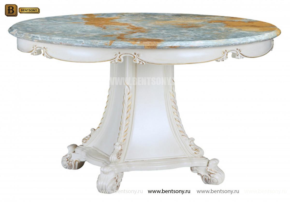 Столовая Митчел с круглым столом (Классика, мраморная столешница) каталог