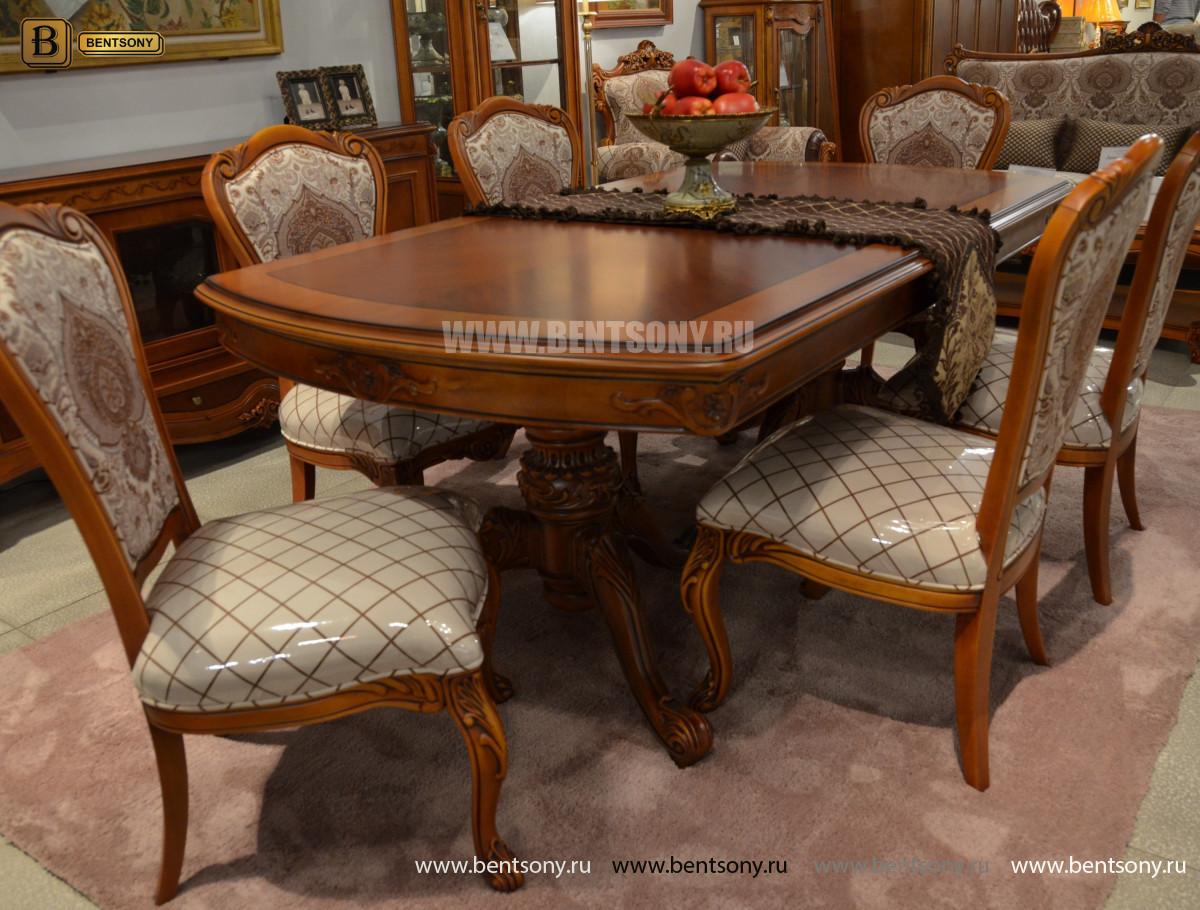 Столовая Флетчер, стол раздвижной (Классика, массив дерева) распродажа