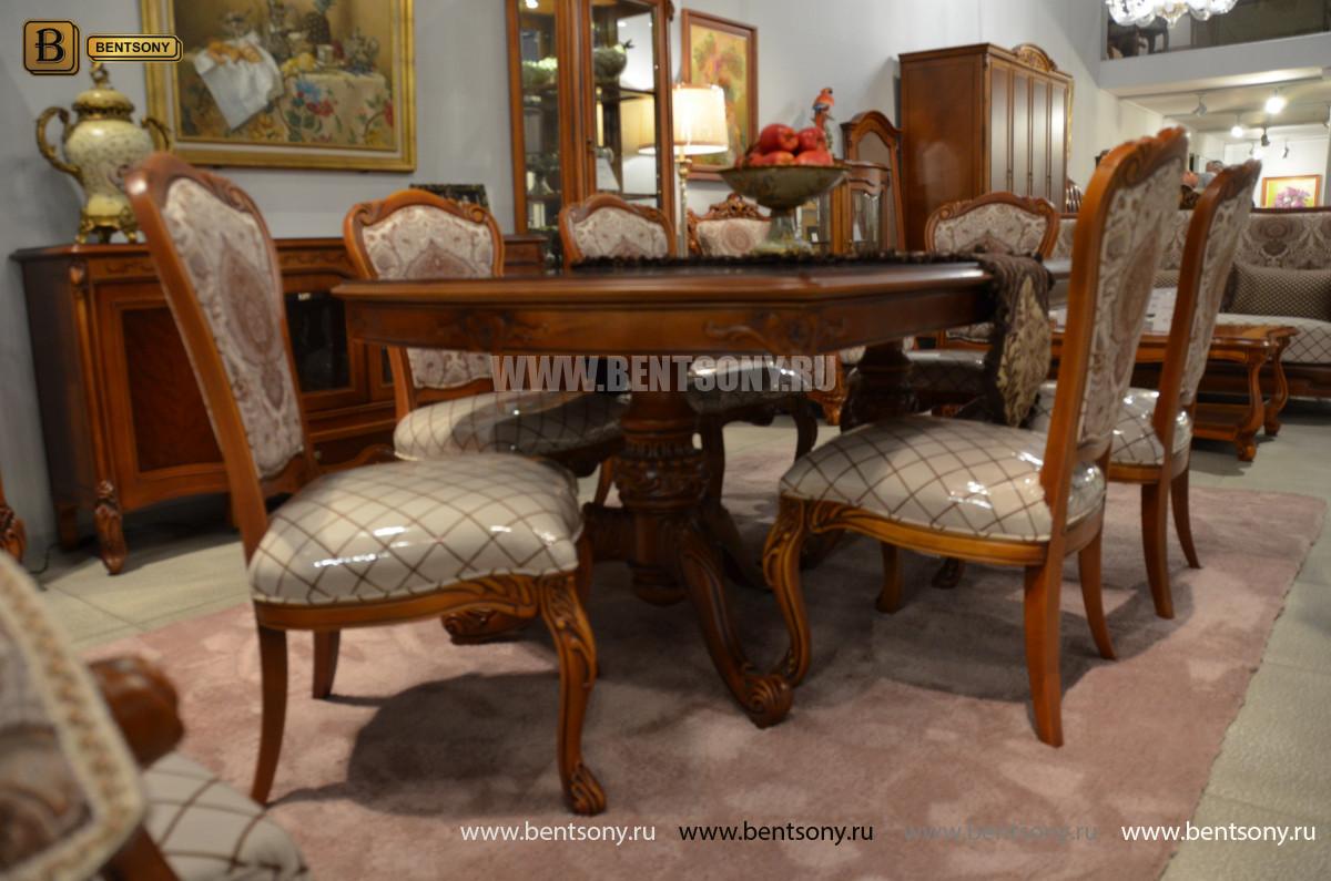 Столовая Флетчер, стол раздвижной (Классика, массив дерева) в СПб