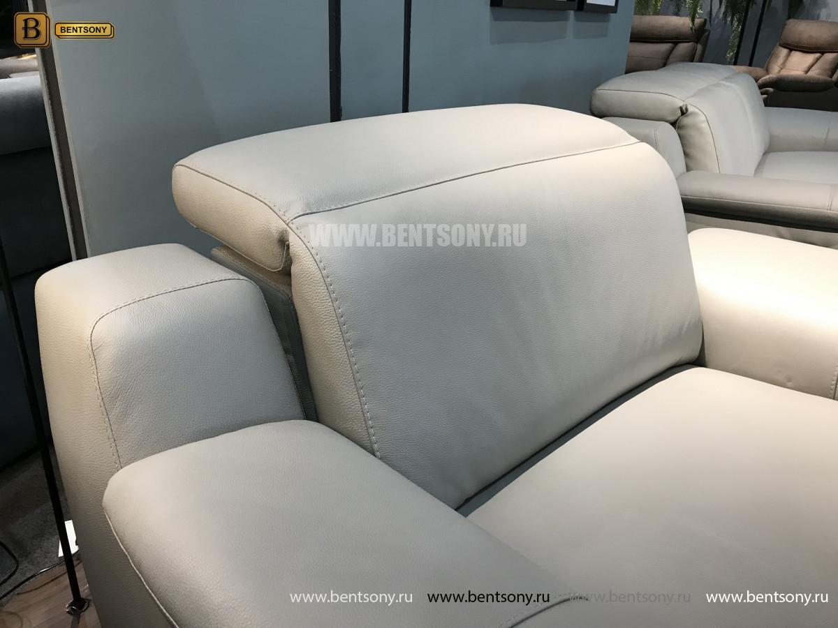 Кресло Торенеро (Реклайнер, натуральная кожа) цена