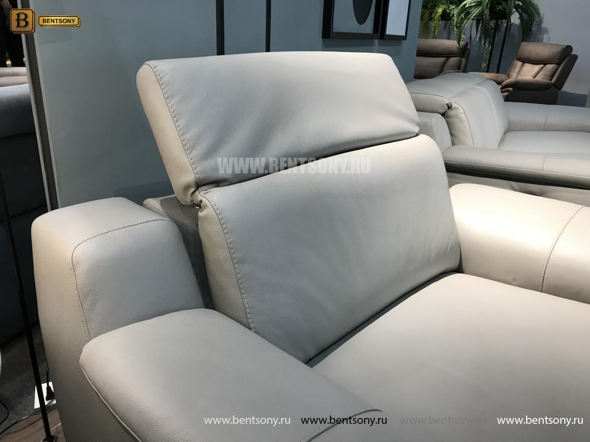 Кресло Торенеро (Реклайнер, натуральная кожа) изображение