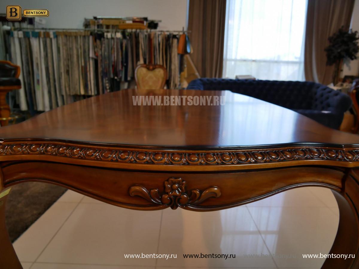 Обеденный стол Монтана (Классика, массив дерева)  фото