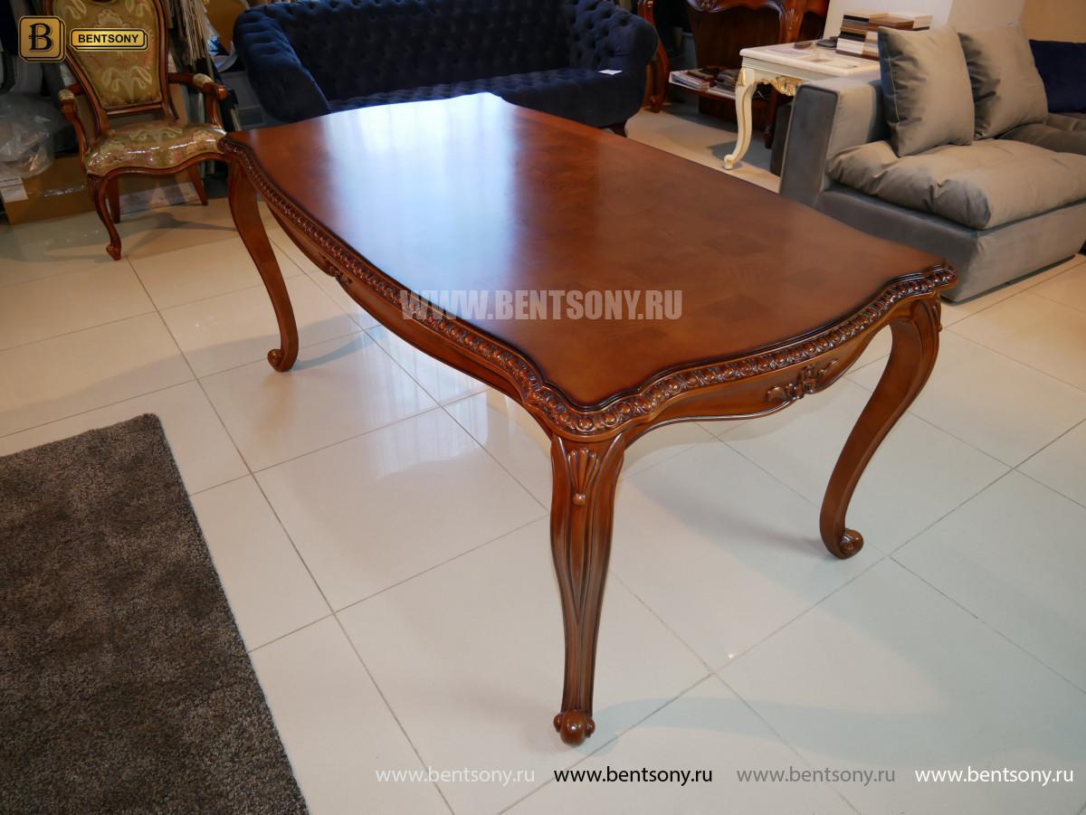 Обеденный стол Монтана (Классика, массив дерева)  изображение