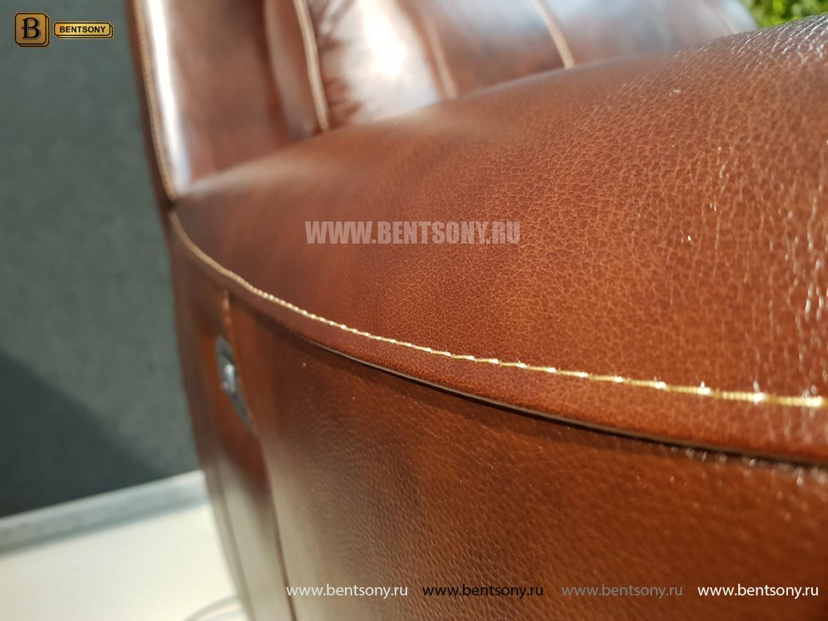 Кресло Болтон (Реклайнер, Натуральная кожа) для квартиры