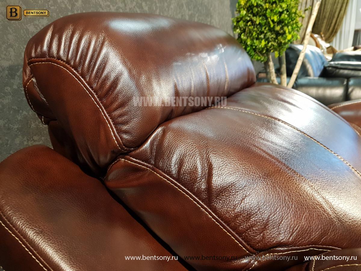 Кресло Болтон (Реклайнер, Натуральная кожа) каталог