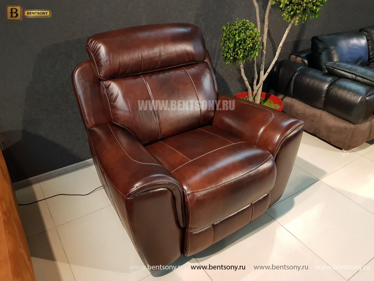Кресло Болтон (Реклайнер, Натуральная кожа) купить в СПб