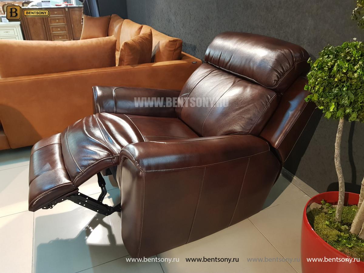Кресло Болтон (Реклайнер, Натуральная кожа) в СПб
