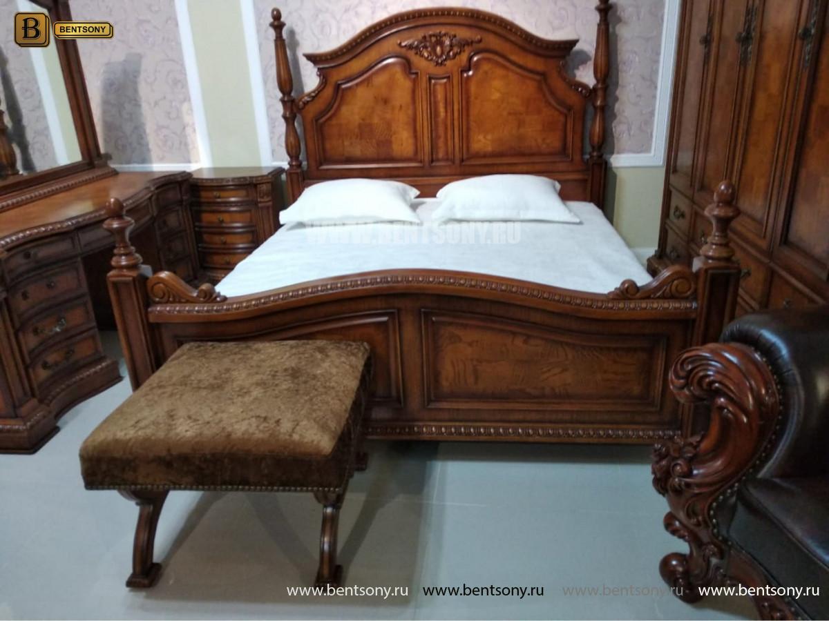 Спальня Монтана А (Классика, массив дерева) купить в Москве