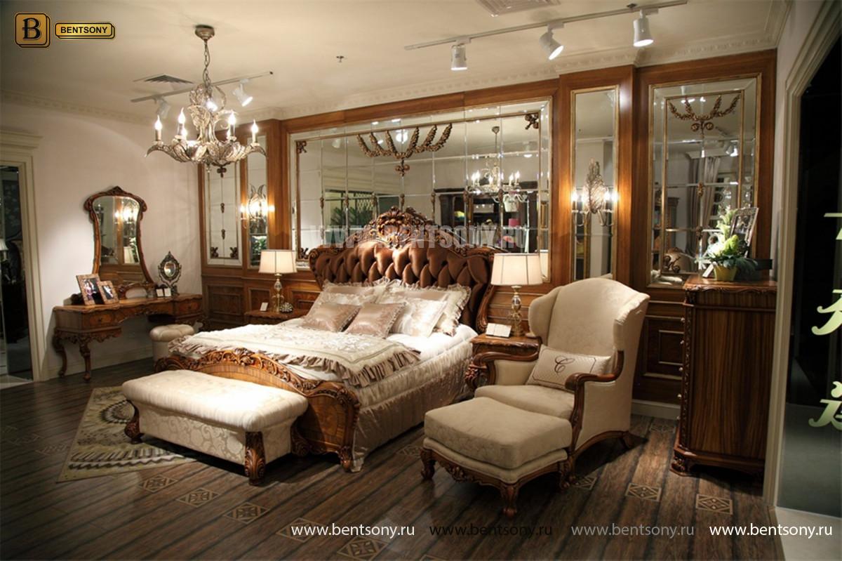 Кровать Белмонт E (Классика, Ткань) каталог мебели