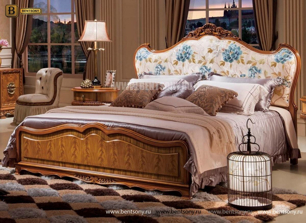 Кровать Белмонт С (Классика, Ткань) купить в Москве