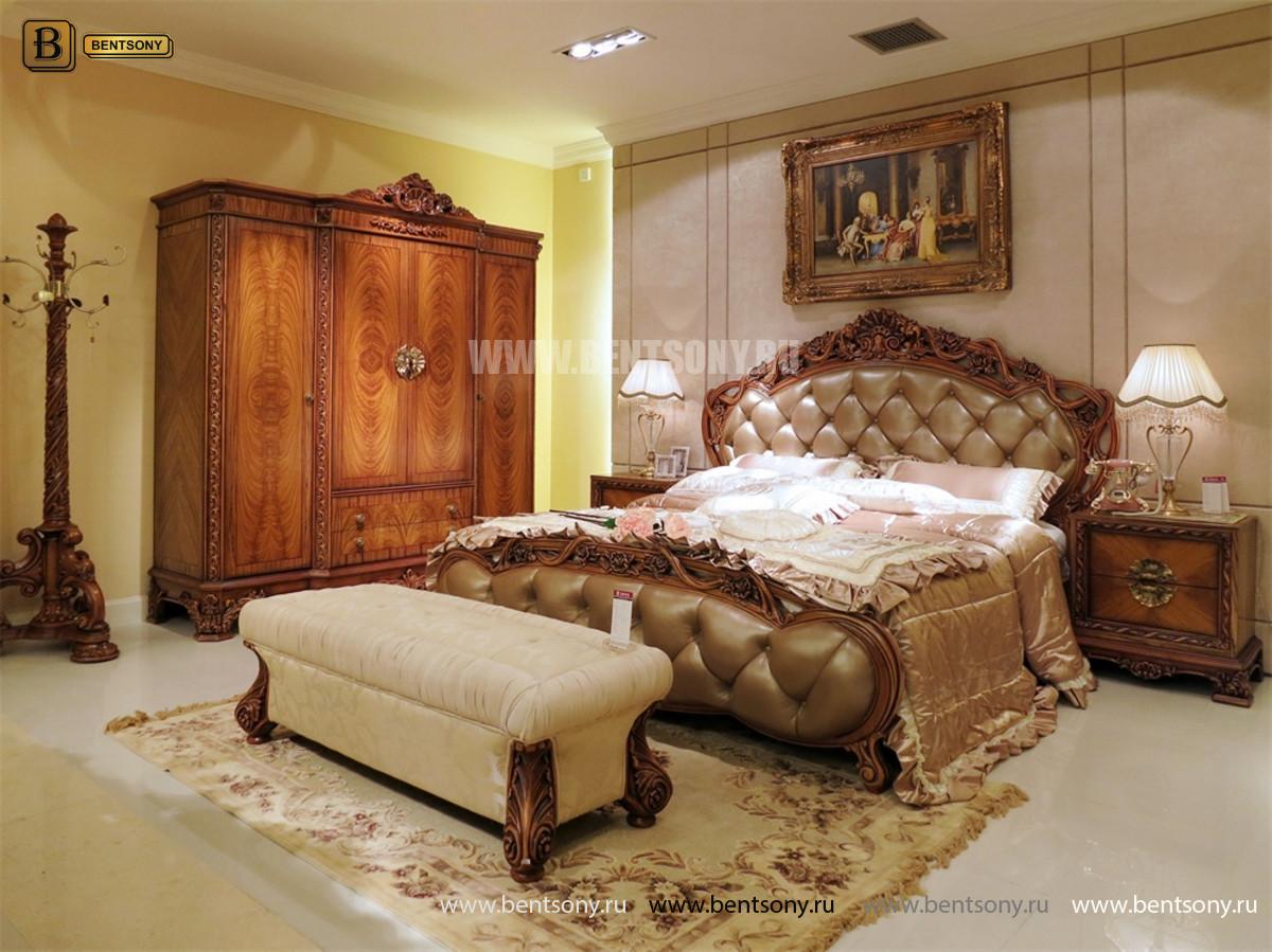 Кровать Белмонт D (Классика, Ткань) каталог мебели с ценами
