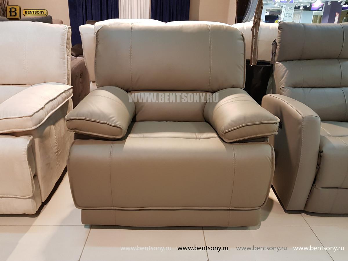 Кожаное Кресло Капонело (Реклайнер) купить в СПб