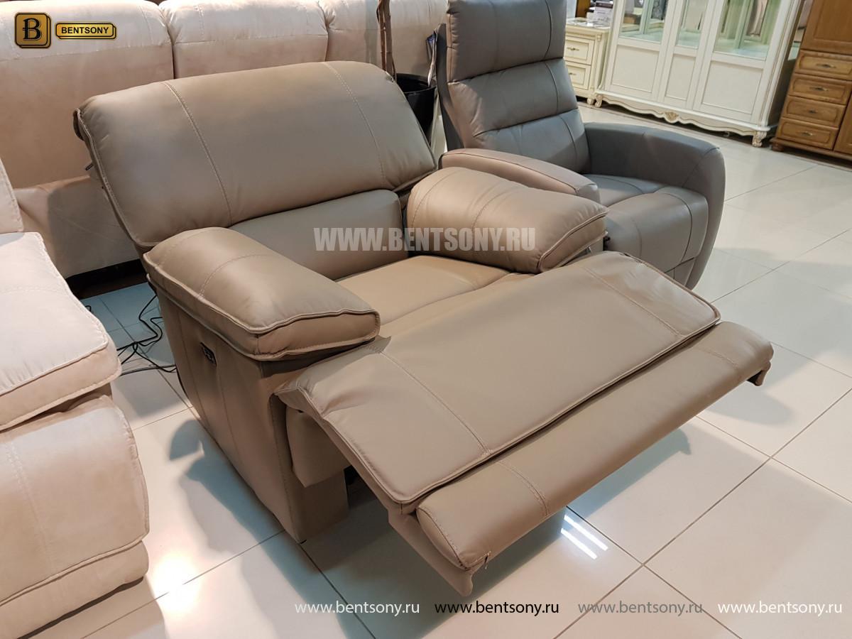 Кожаное Кресло Капонело (Реклайнер) каталог мебели с ценами
