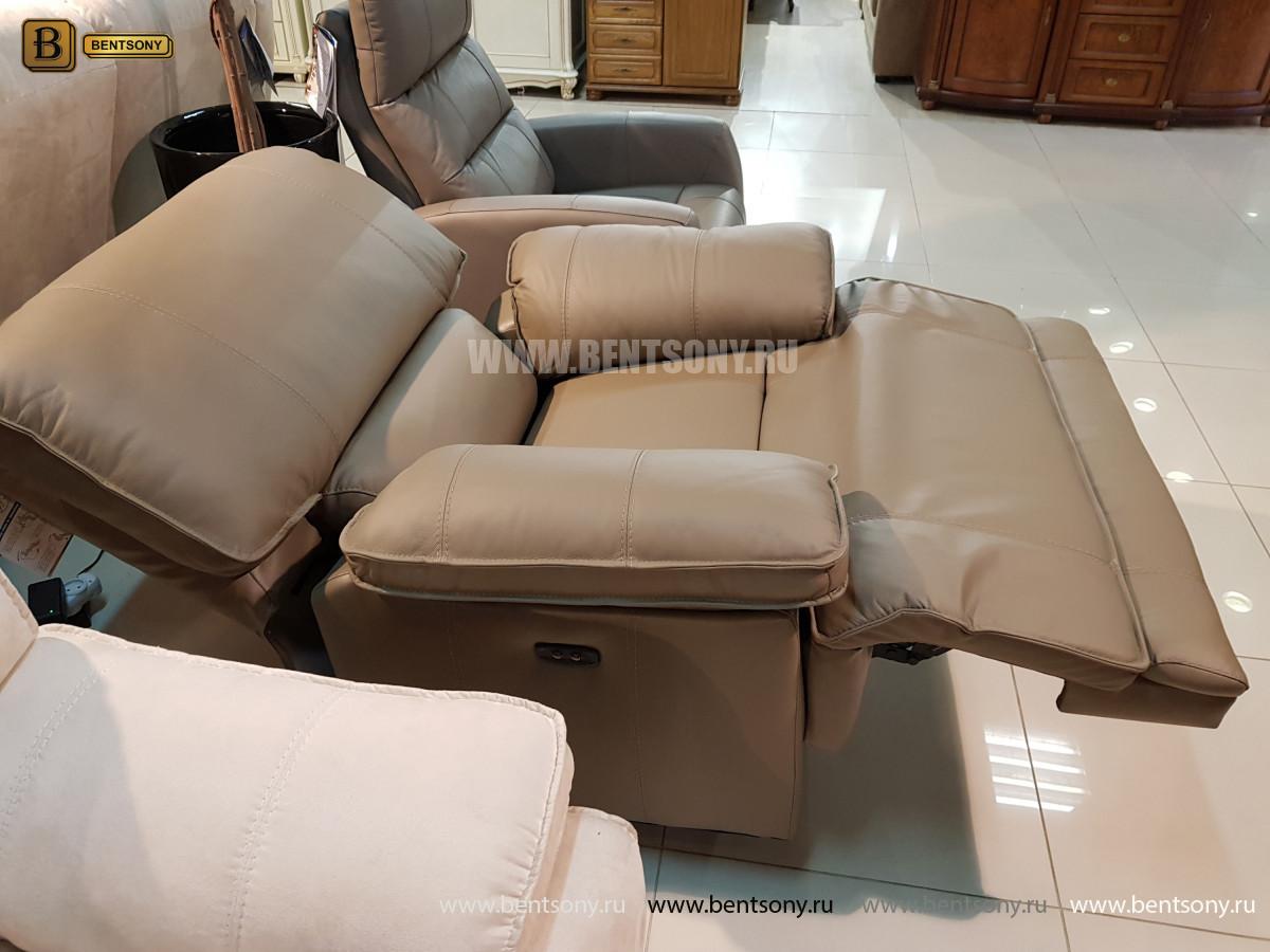Кожаное Кресло Капонело (Реклайнер) магазин