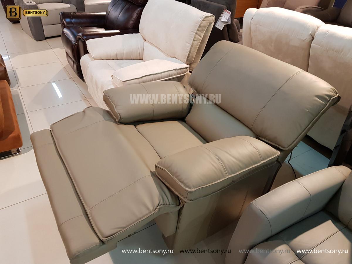Кожаное Кресло Капонело (Реклайнер) в интерьере