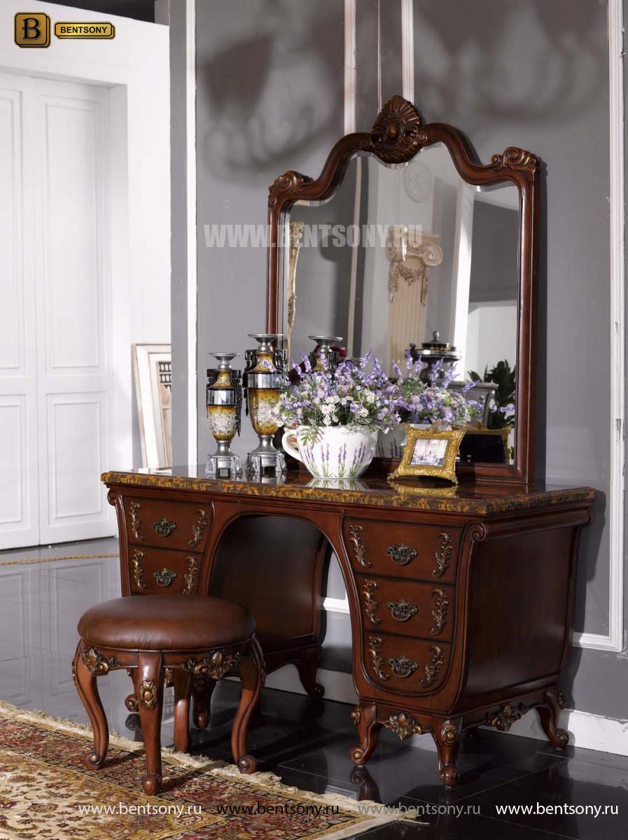 Классический стол туалетный с зеркалом L215