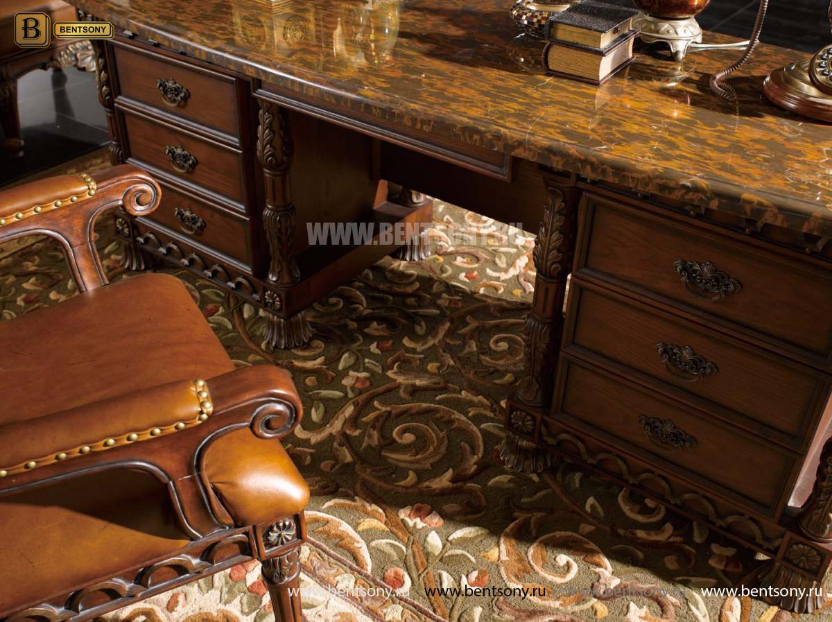 Классический стол письменный L225