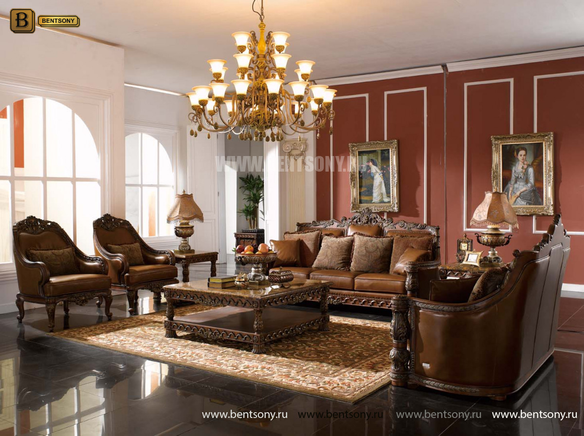 Классическое кресло в гостиную L232