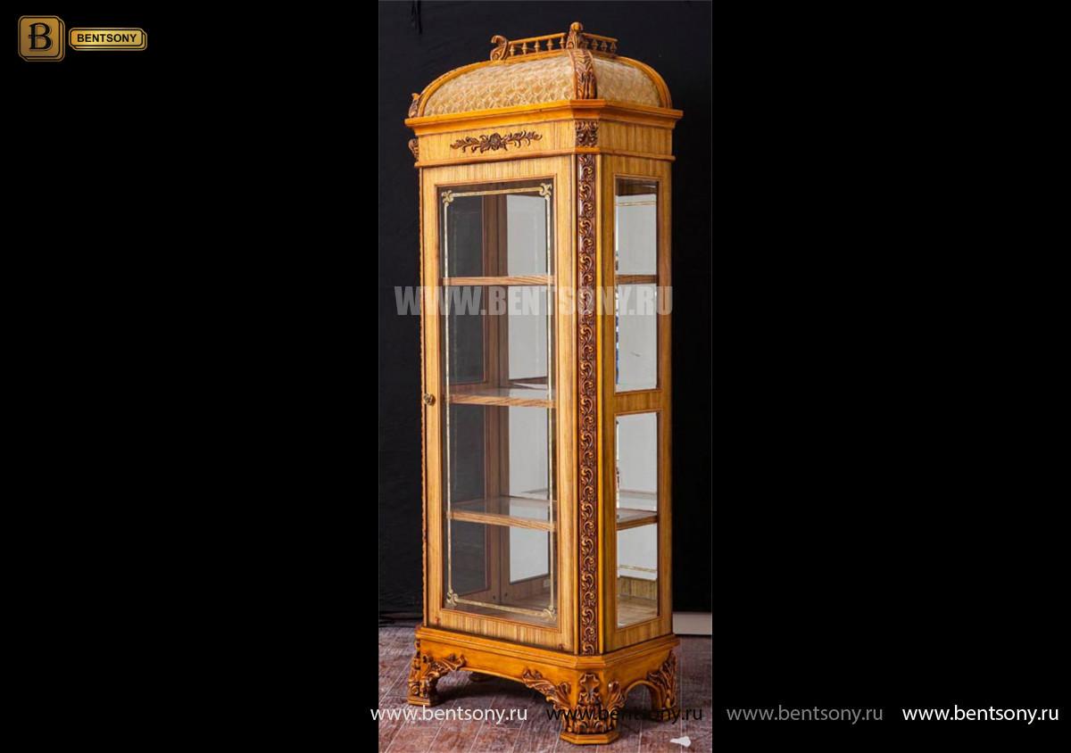 Витрина Белмонт однодверная (Классика) каталог мебели с ценами