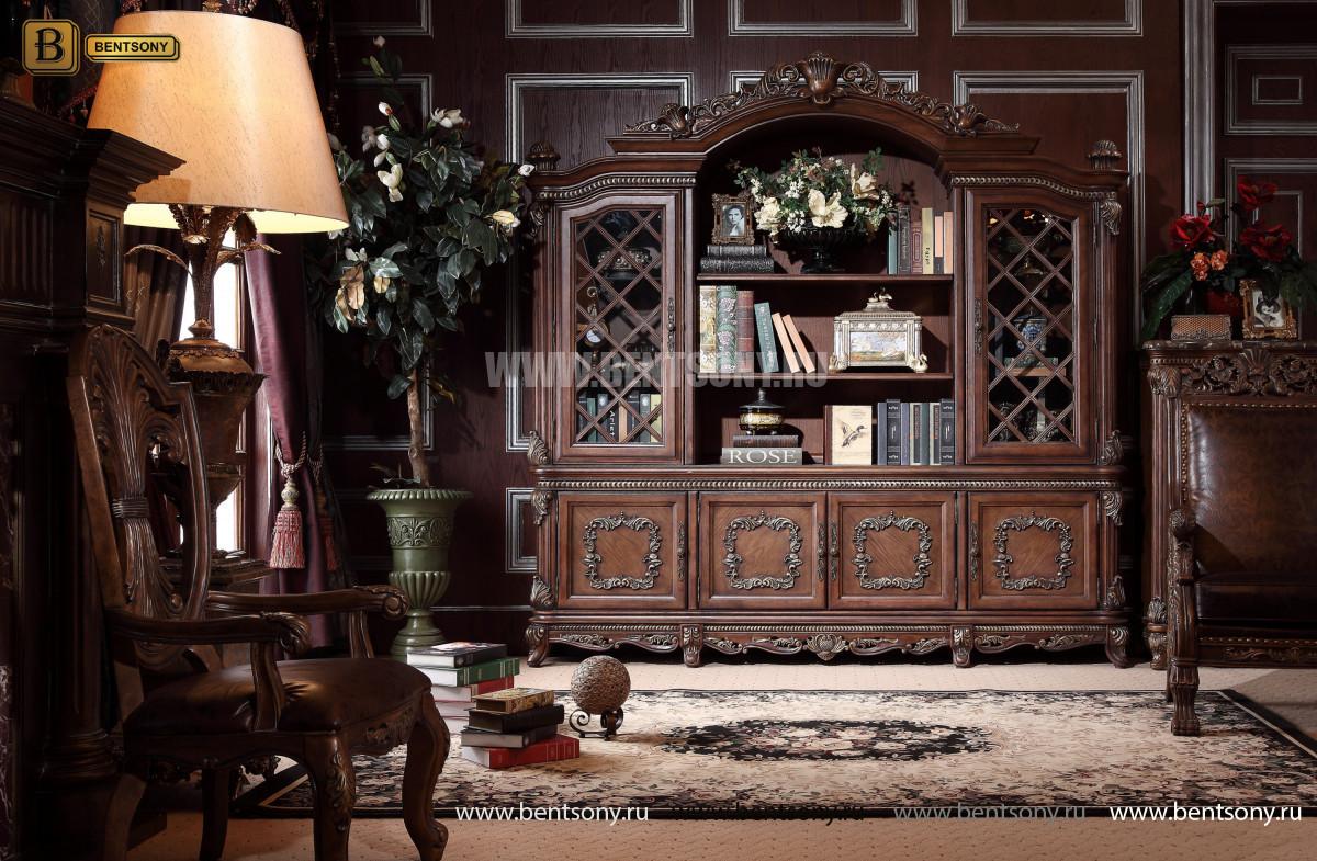 Классический шкаф книжный ДельМондо