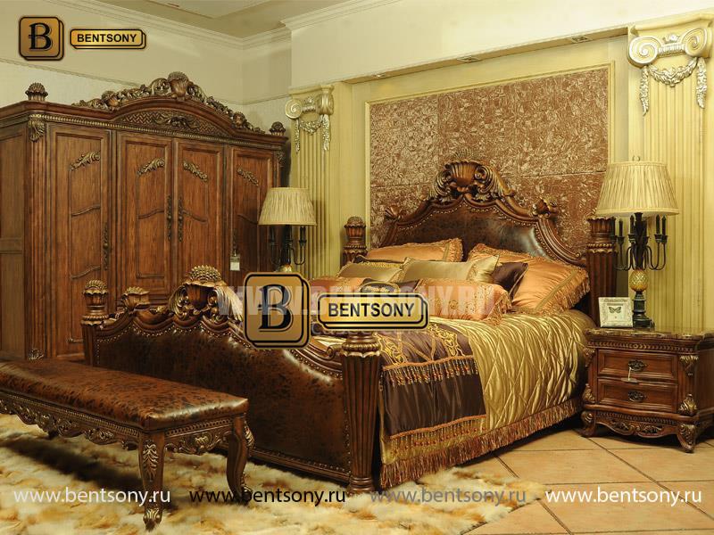 Классическая кровать ДельМондо каталог мебели с ценами