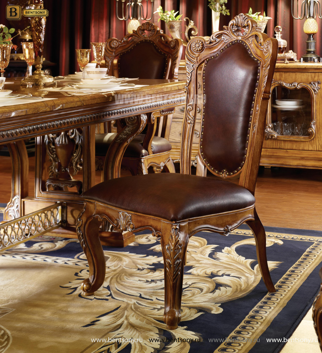 Классический стул без подлокотников L231