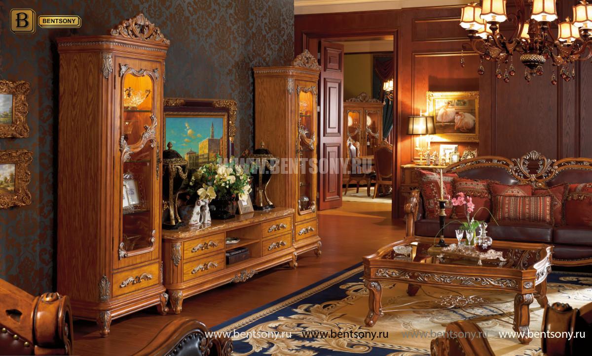 Классический стол журнальный большой L231
