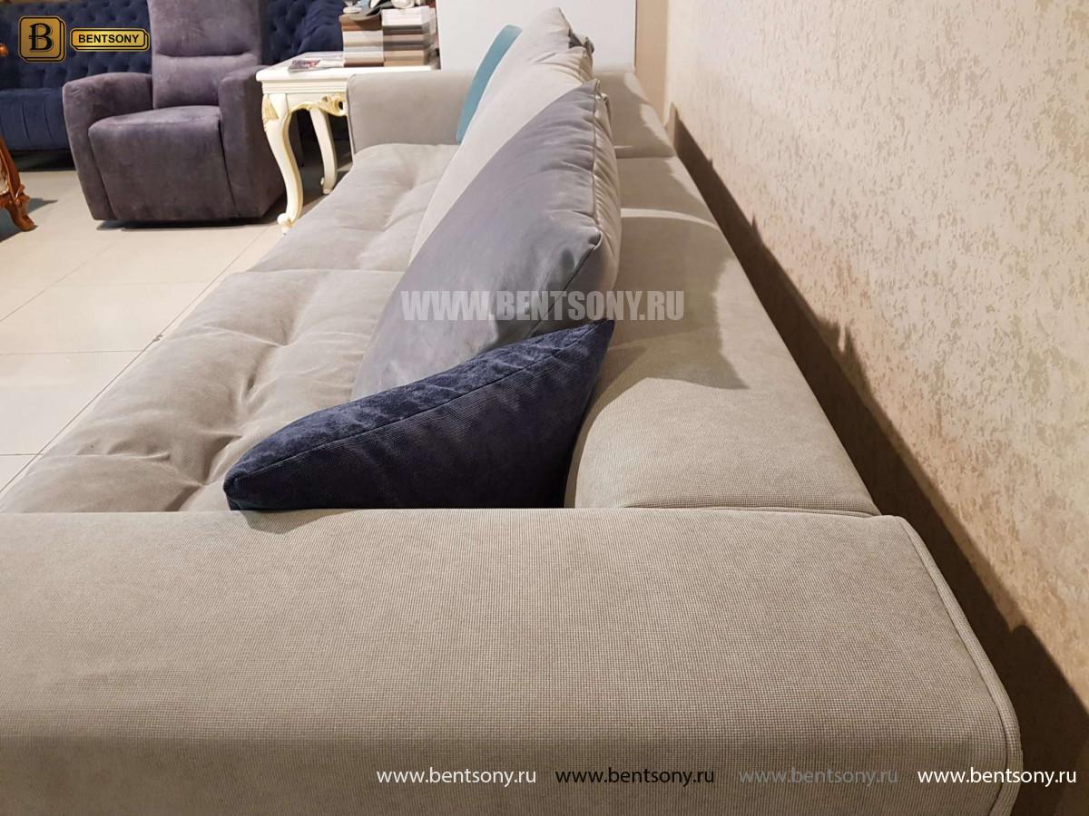 Диван Бениамино, серый (Прямой) официальный сайт цены