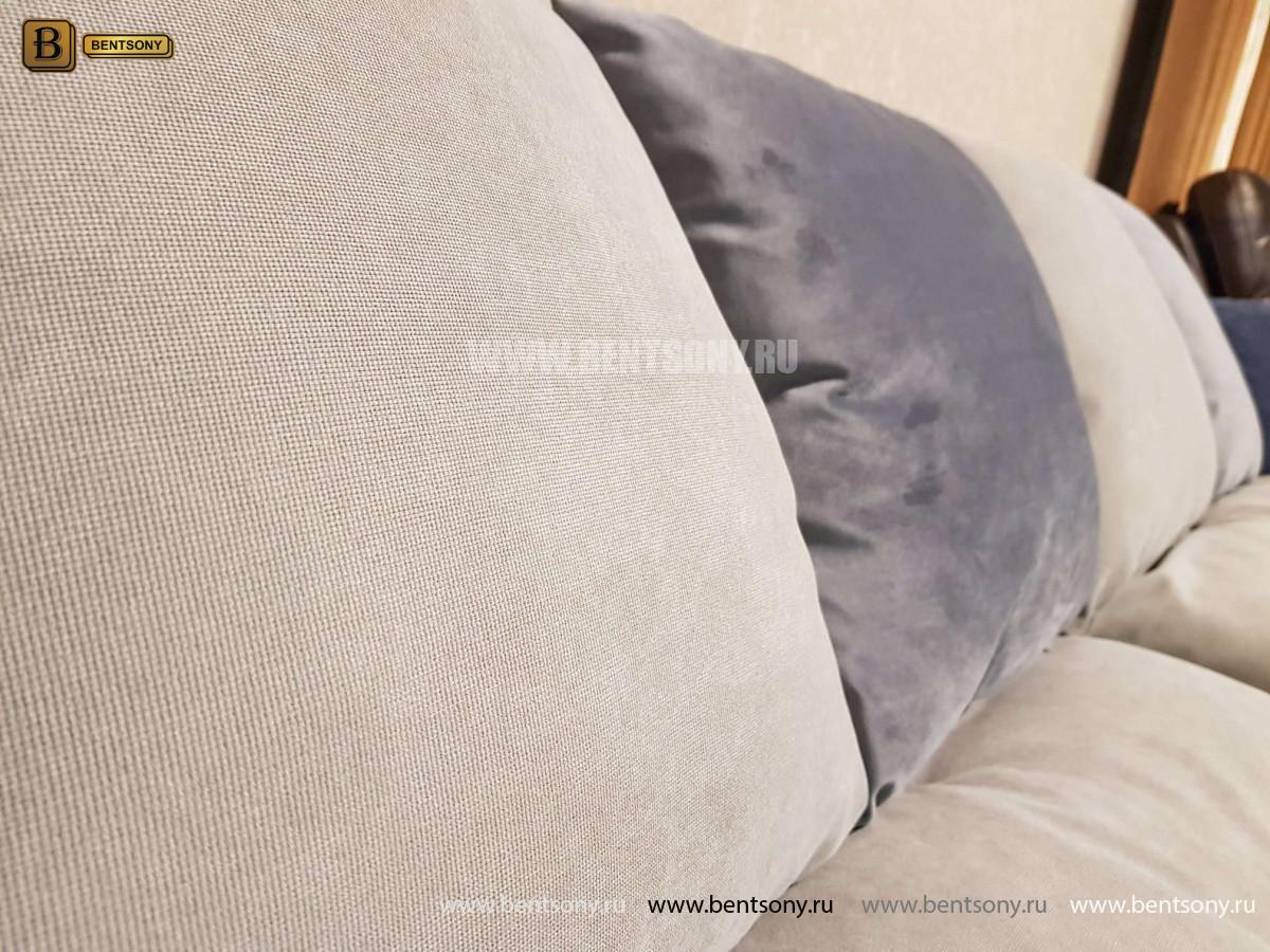 Диван Бениамино, серый (Прямой) цена
