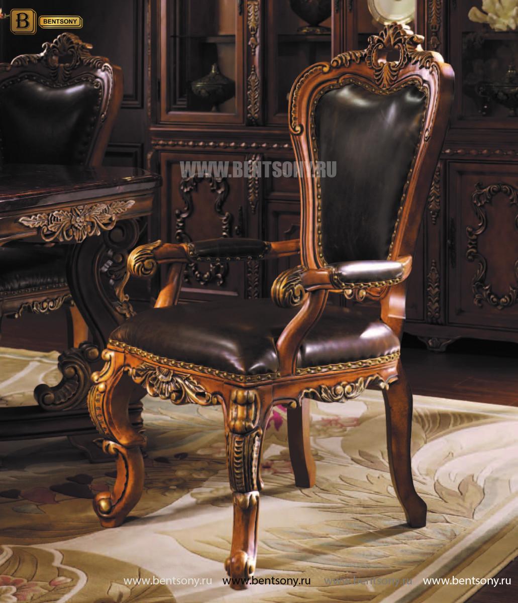 Классический стул с подлокотниками L259
