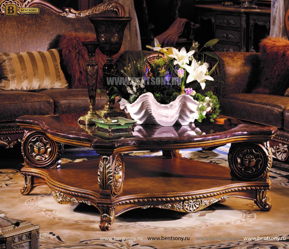 Классический стол журнальный большой L263