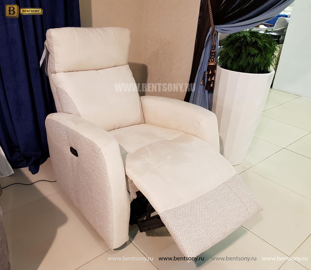 Кресло Эдвард с электрореклайнером каталог мебели