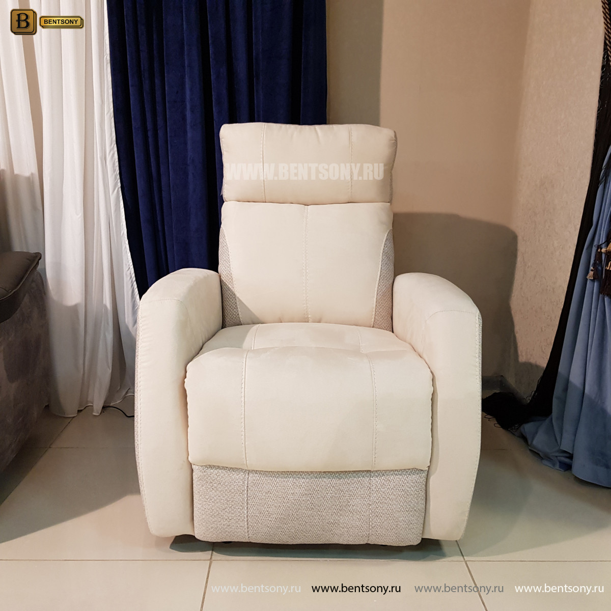 Кресло Эдвард с электрореклайнером официальный сайт цены