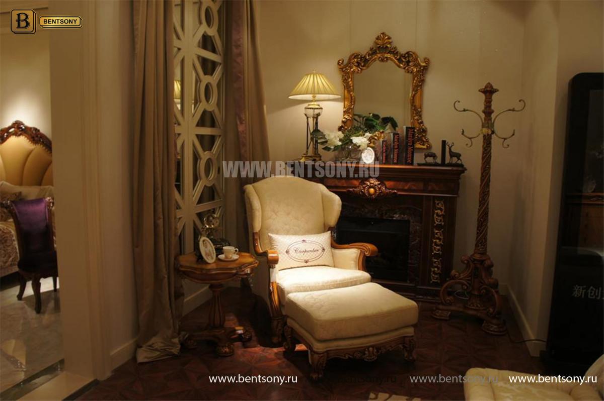 Стол чайный круглый Белмонт (Классика, массив дерева) купить в СПб