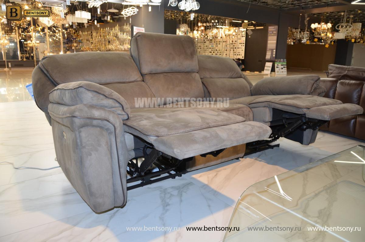 Диван Ларецо с реклайнерами каталог мебели с ценами
