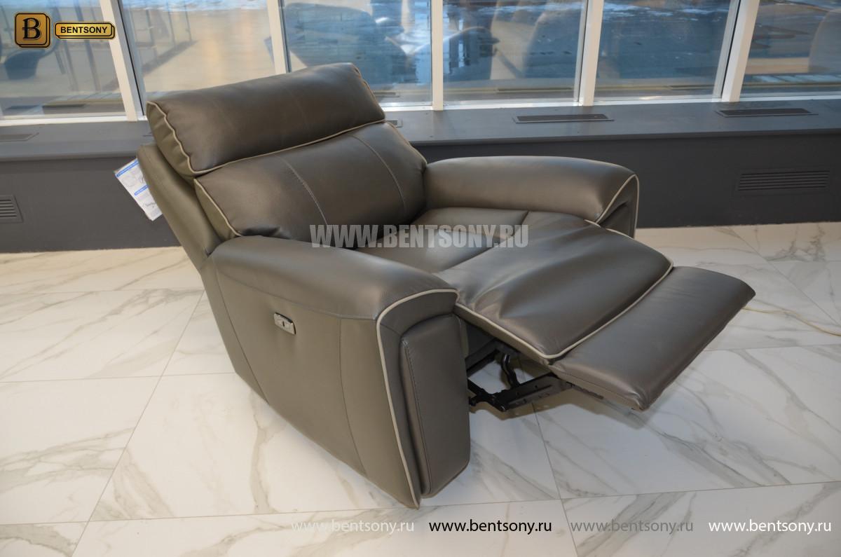 Кресло Маркезано с реклайнером  каталог мебели с ценами