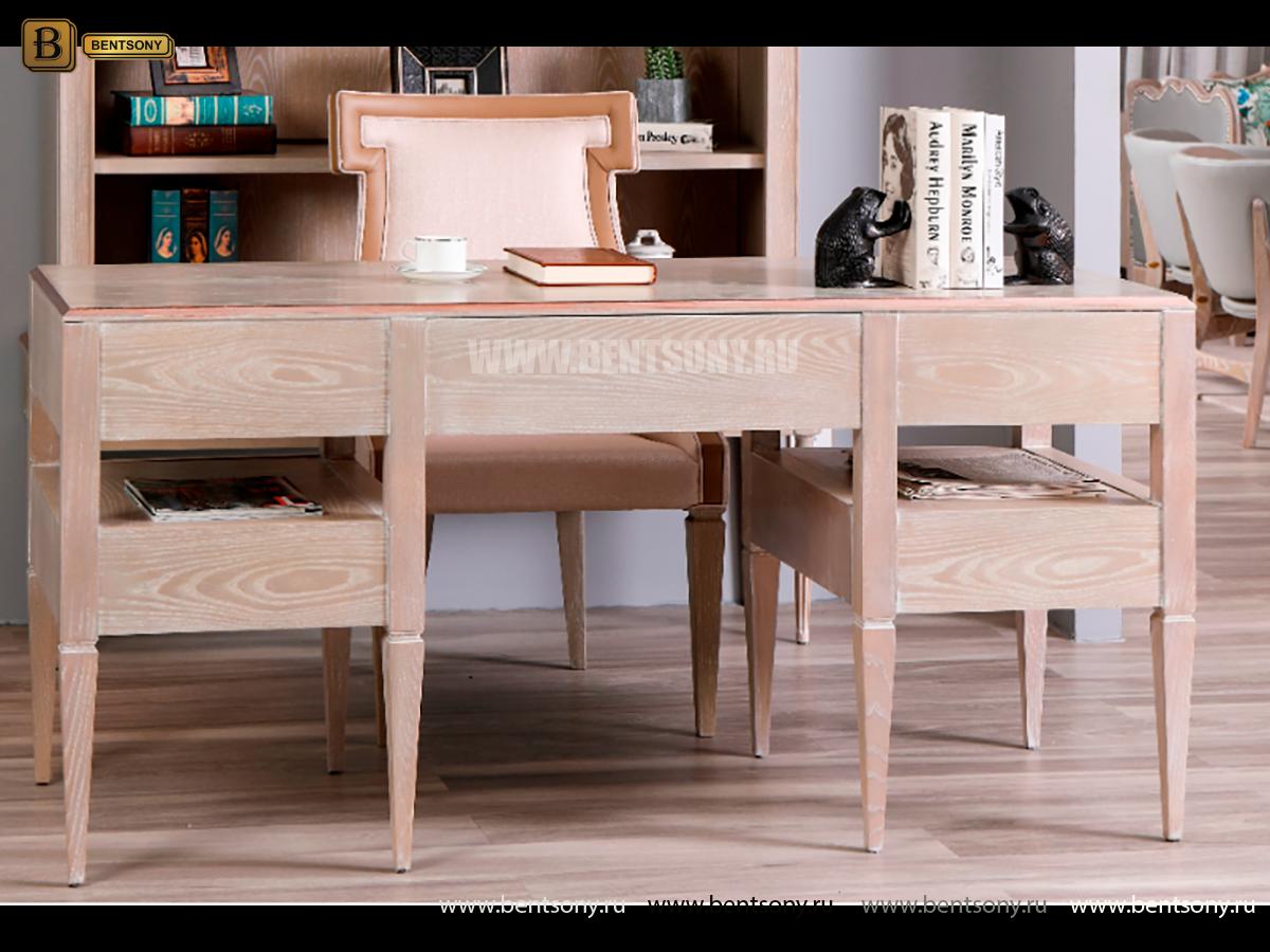 Письменный стол Невада A (Массив дерева, классика) интернет магазин