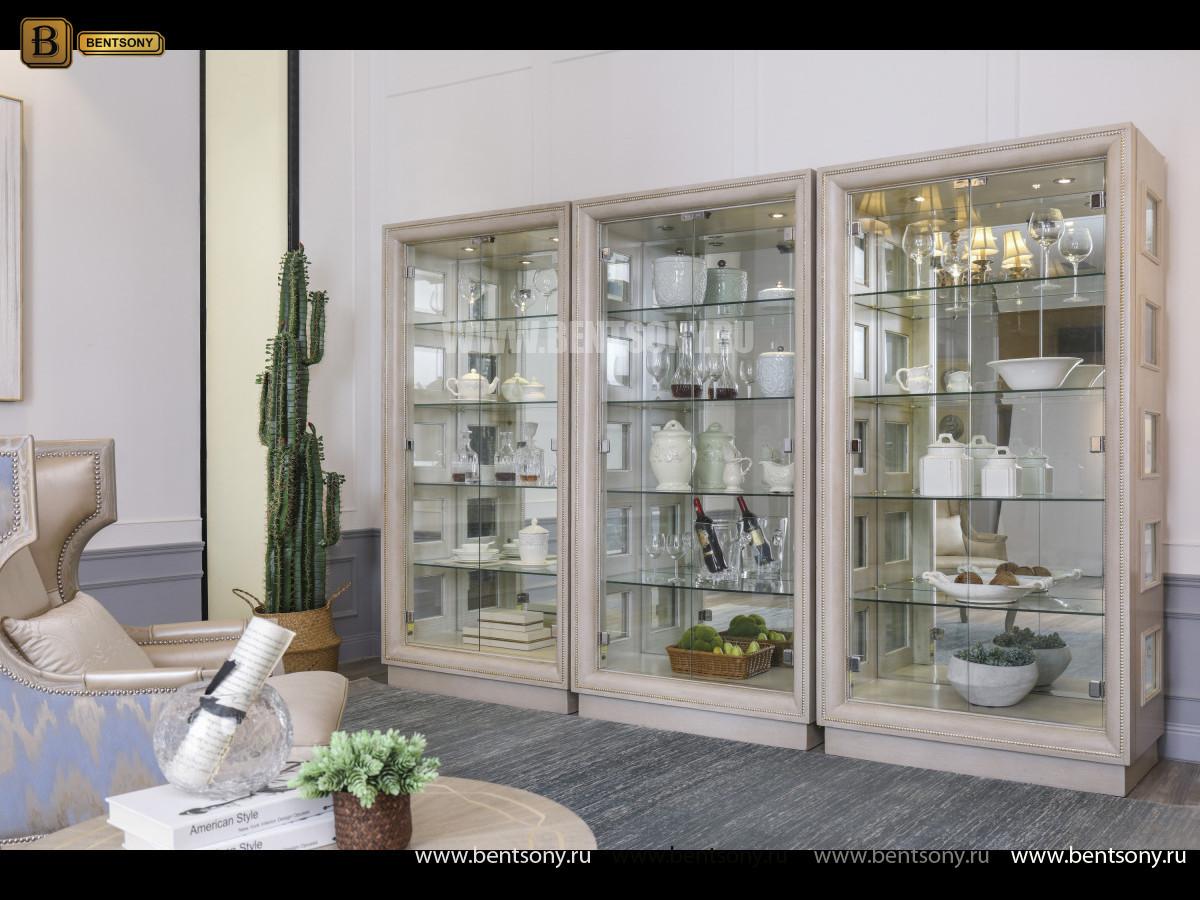 Декоративная витрина Невада B  (Неоклассика, массив дерева) купить в Москве