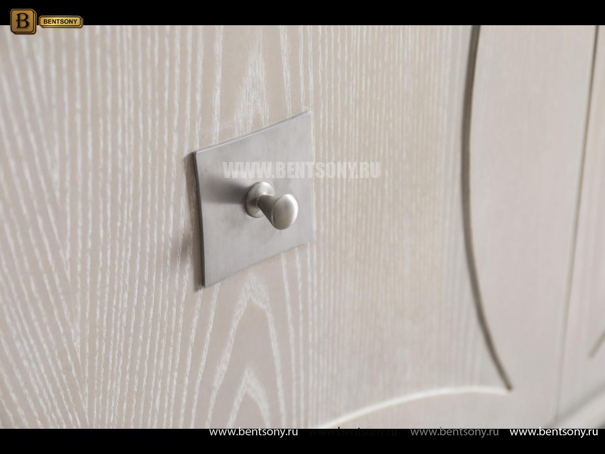 ТВ Тумба Невада C (Неоклассика, массив дерева) каталог мебели с ценами