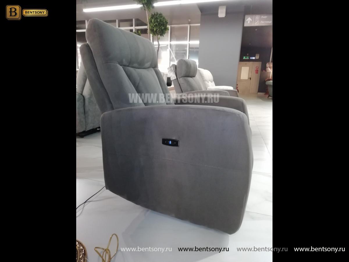Тканевое Кресло Алфорно (Реклайнер) в интерьере