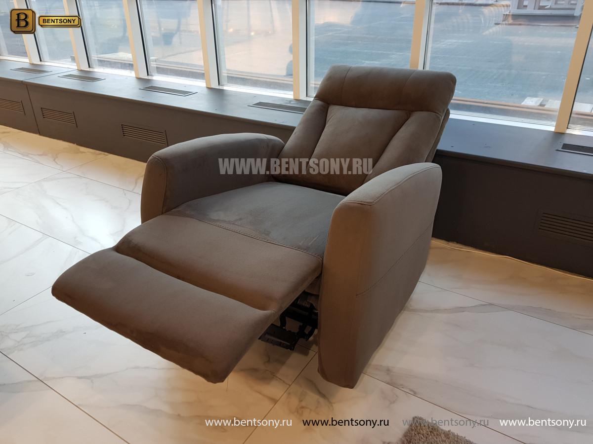 Тканевое Кресло Алфорно (Реклайнер) изображение