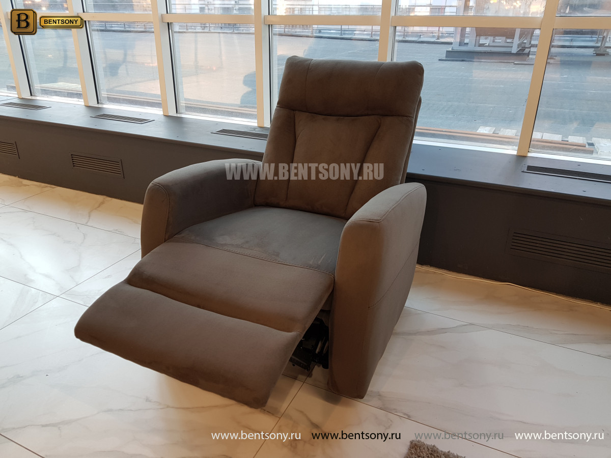 Тканевое Кресло Алфорно (Реклайнер) цена
