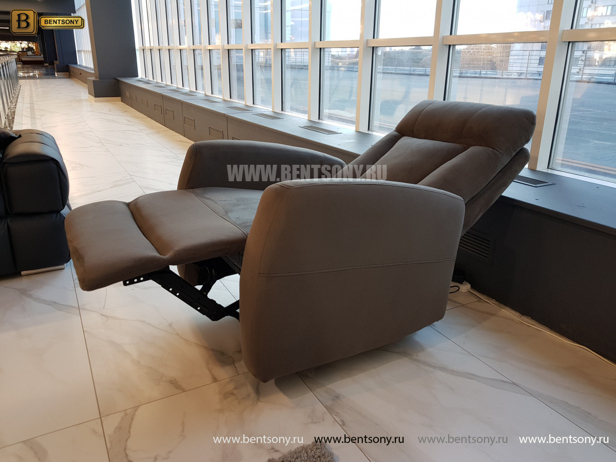 Тканевое Кресло Алфорно (Реклайнер) купить в Москве