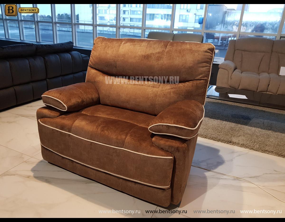 Кресло Терамо с реклайнером в интерьере