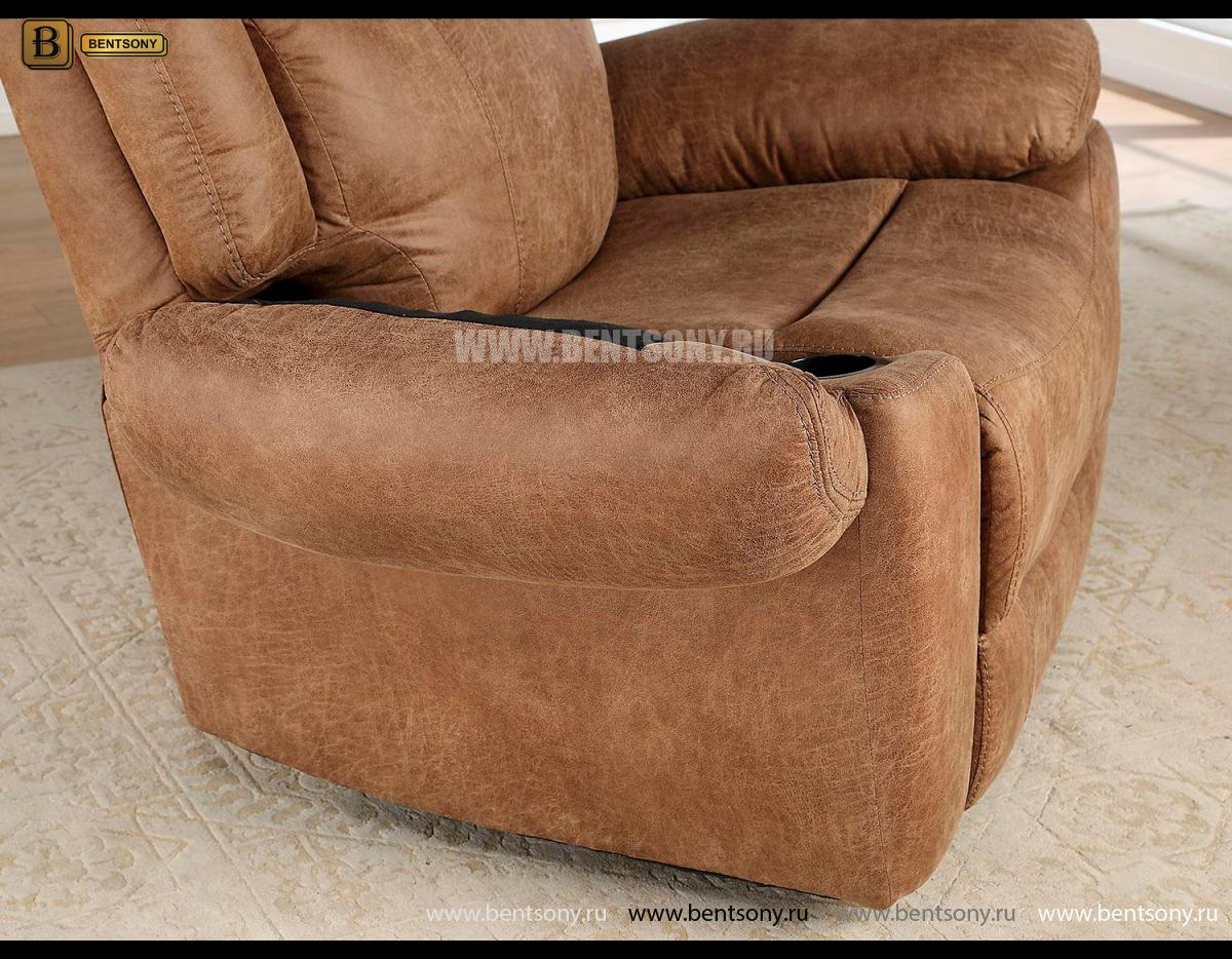 Кресло с реклайнером и глайдером Джиберто фото