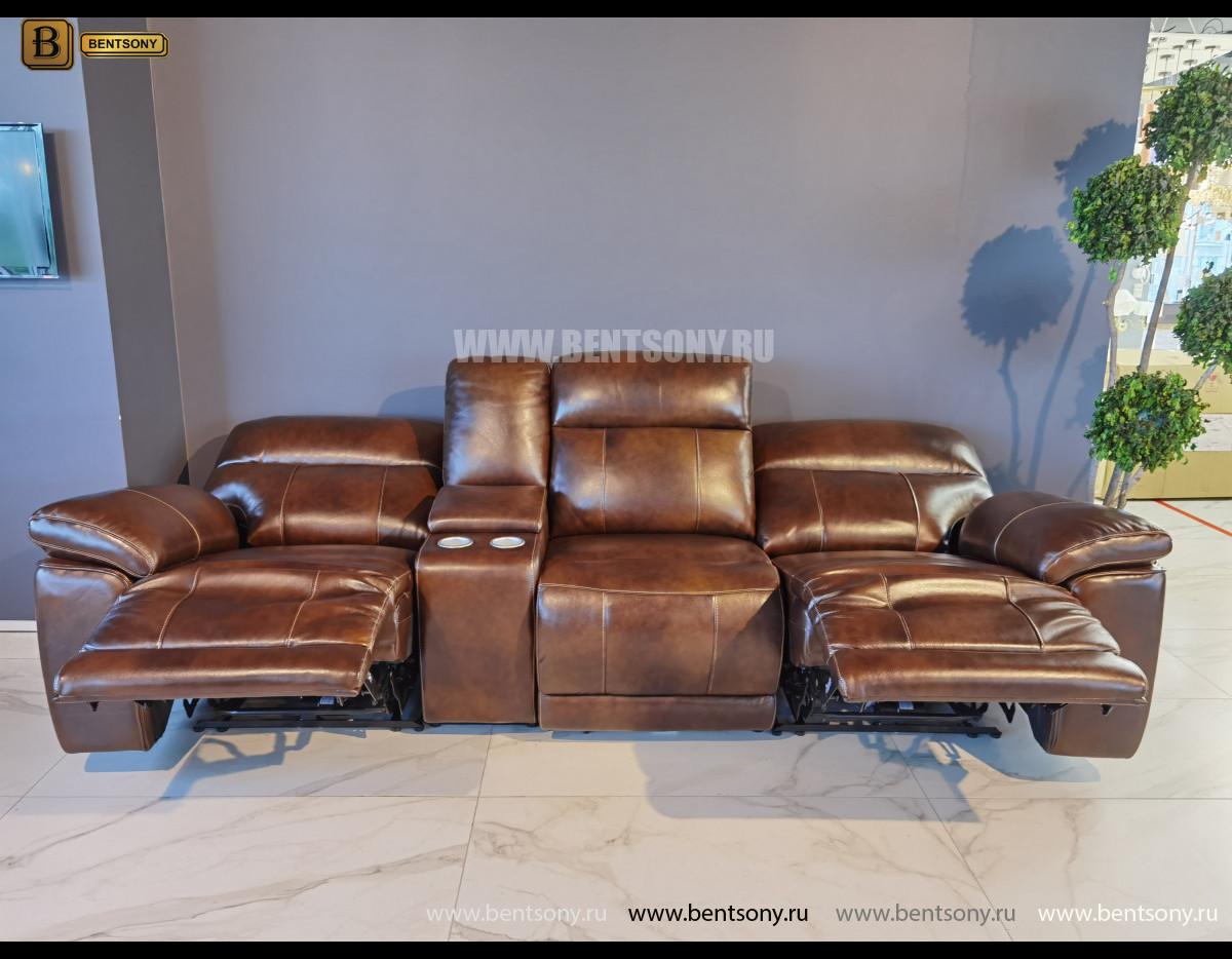 Диван Стерлинг с баром и реклайнерами каталог мебели
