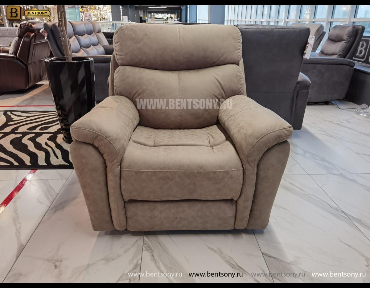 Кресло Сегретто с реклайнером купить в СПб