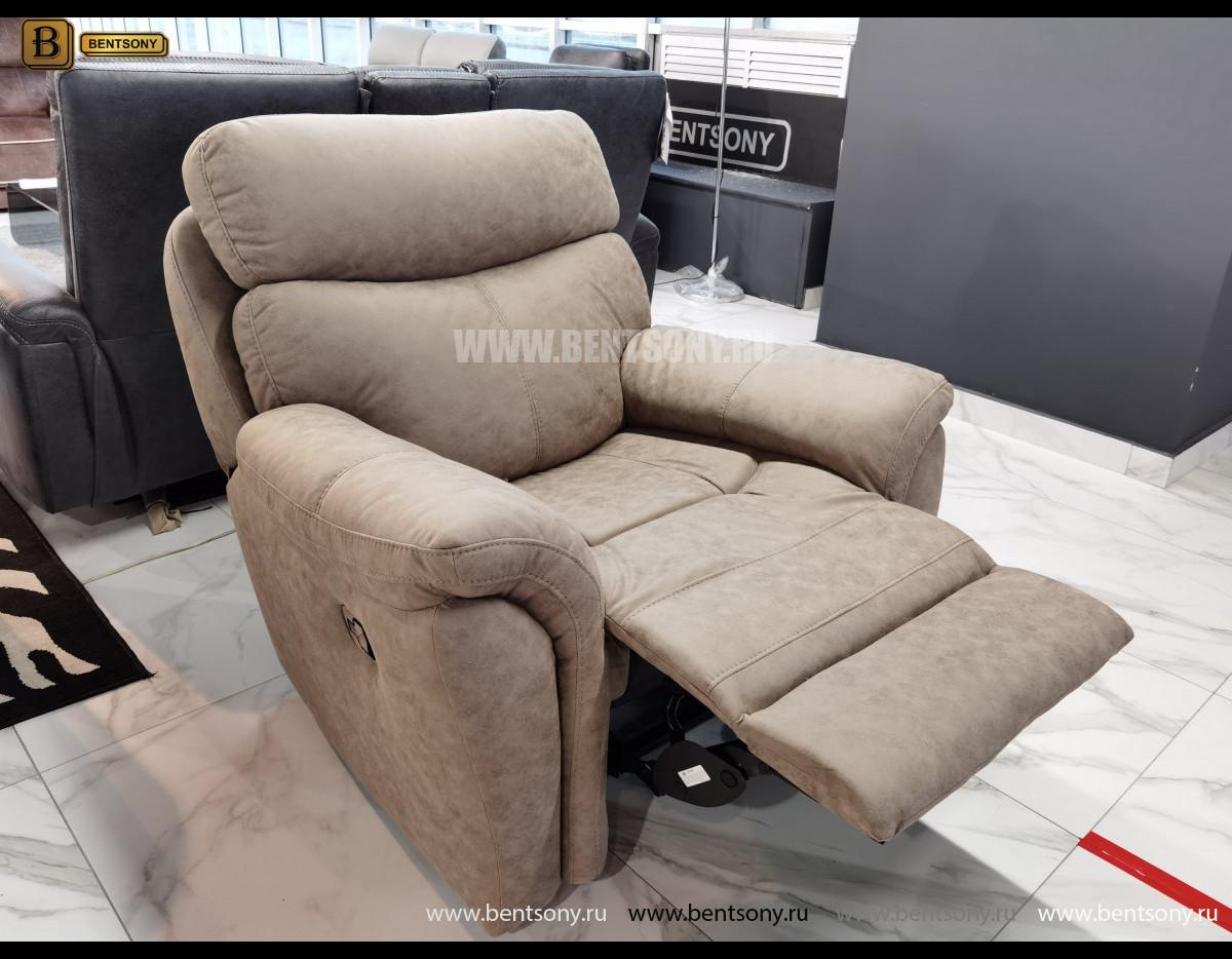 Кресло Сегретто с реклайнером каталог с ценами
