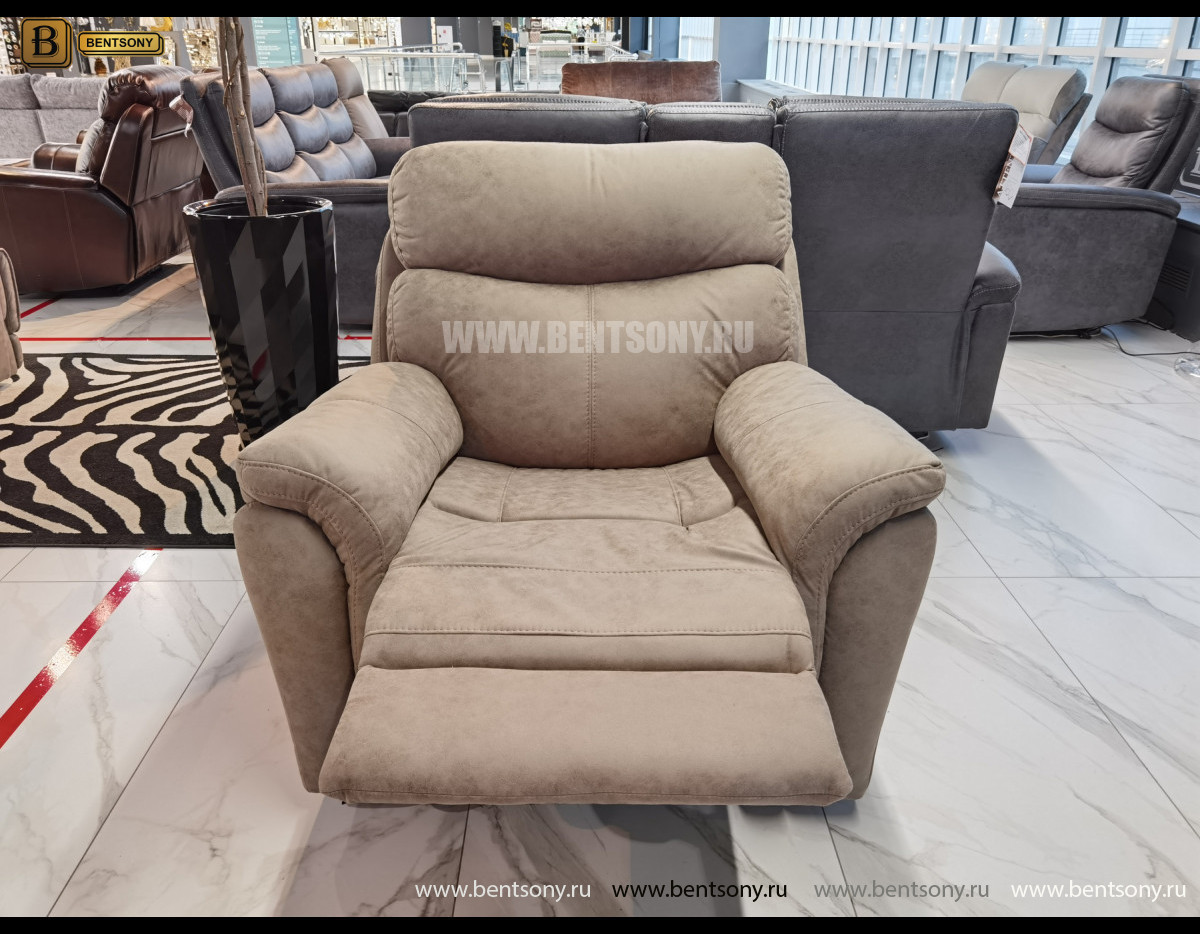 Кресло Сегретто с реклайнером официальный сайт цены