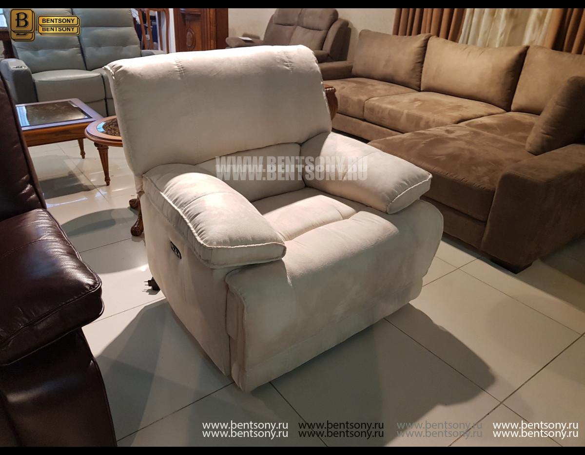 Кресло Капонело с электрореклайнером магазин Москва